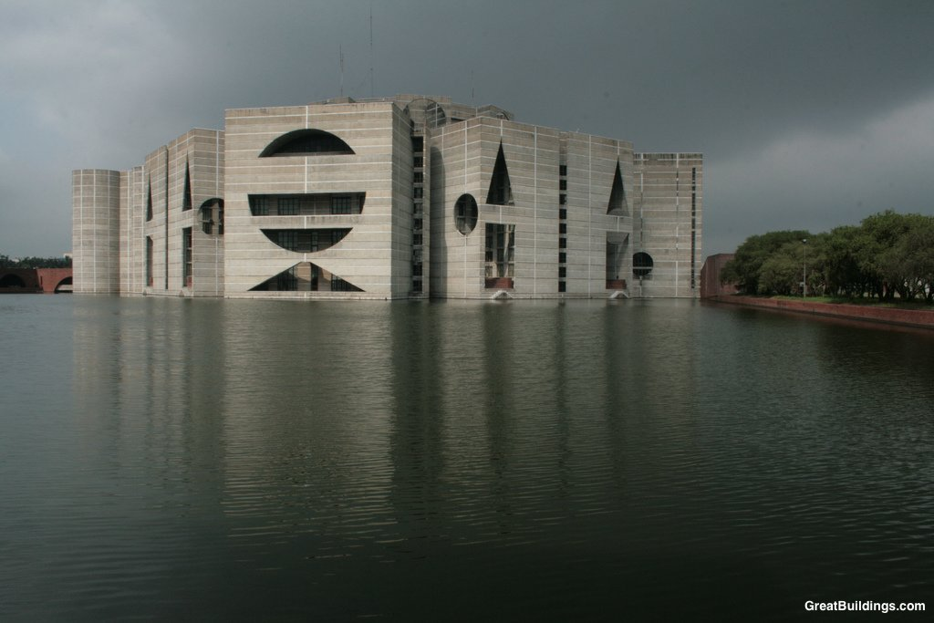Louis kahn national assembly building